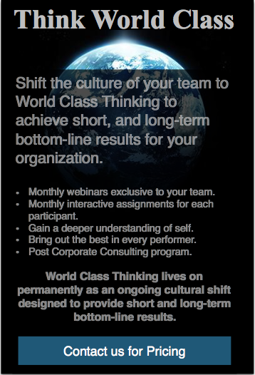 Think World Class 12 Month Corporate Program
